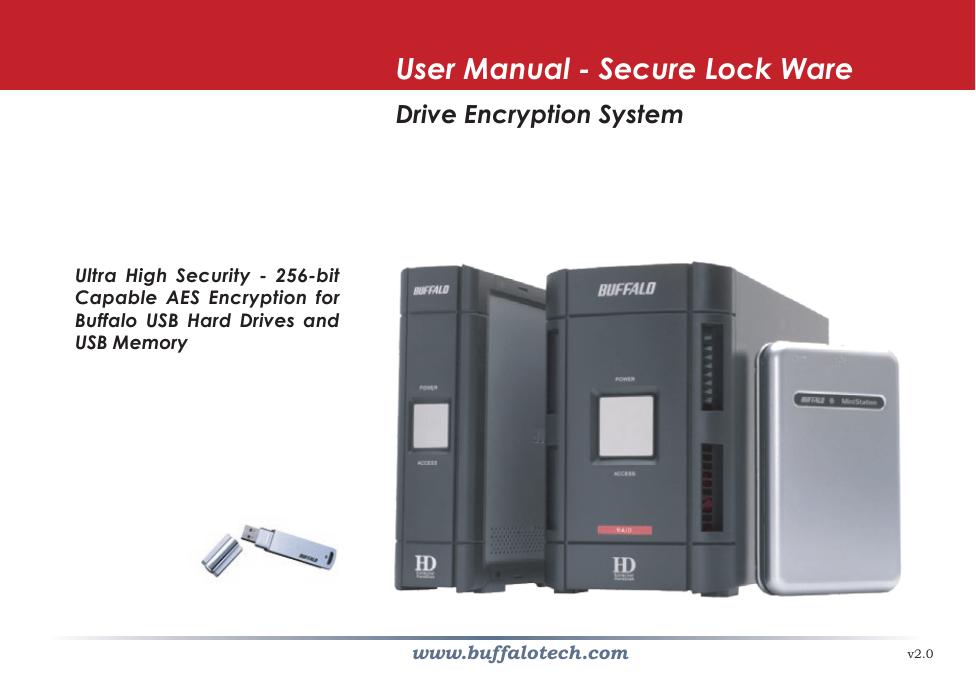 Buffalo Secure Lock Ware User manual | manualzz com
