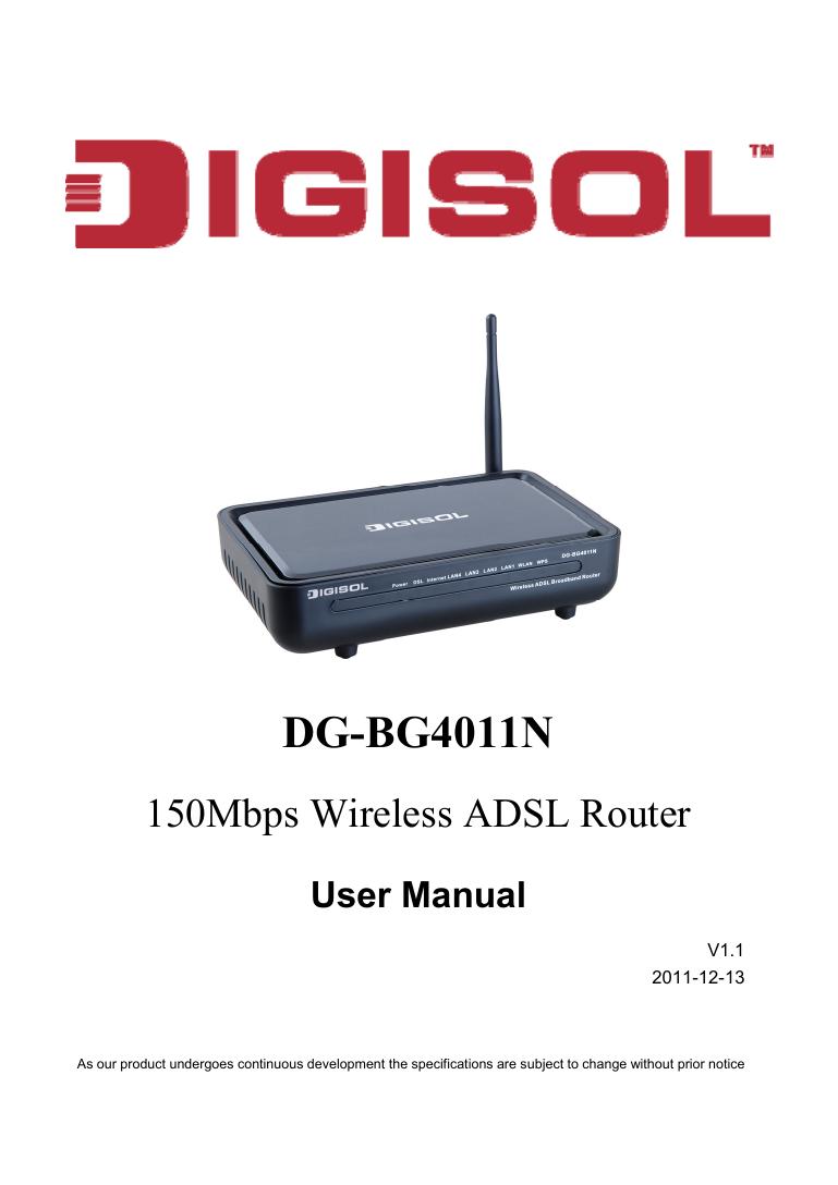 DG-BG4011N - Smartlink   manualzz com