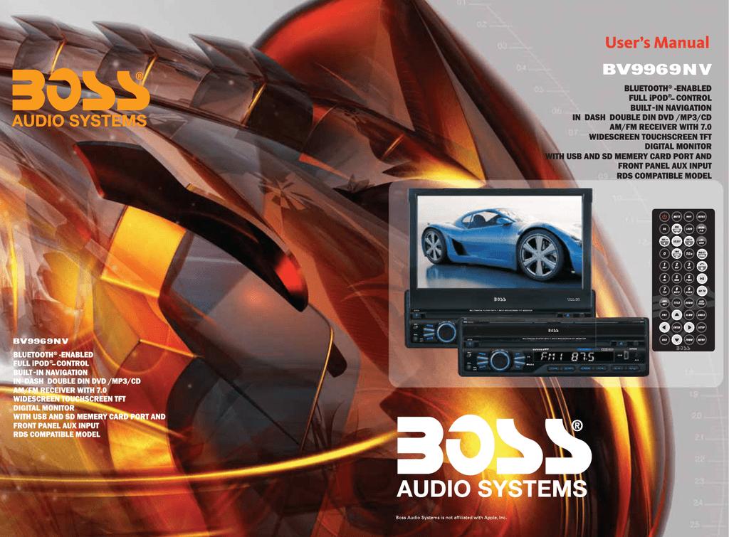 boss audio car stereos manual