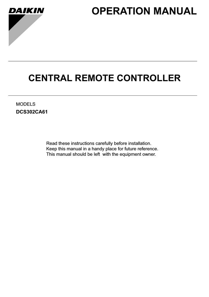 Daikin FTXS100KVMA Installation manual | manualzz com