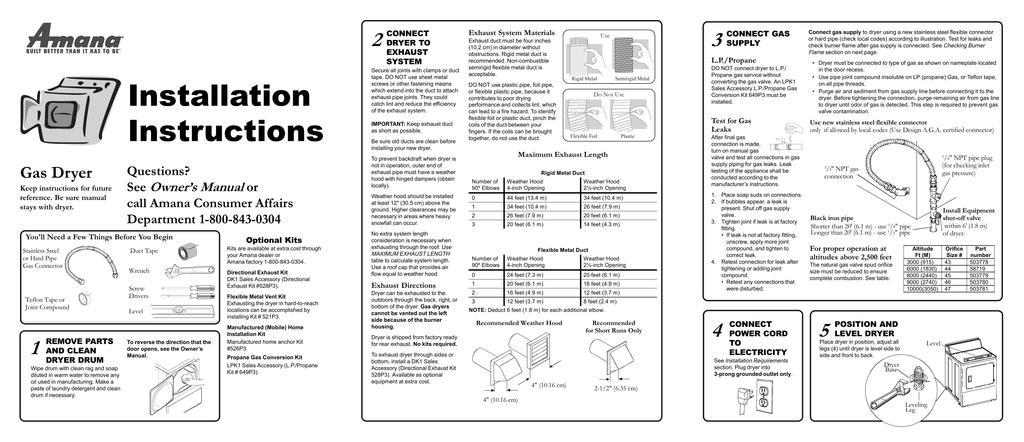 amana gas dryer wiring diagrams amana alg643raw owner s manual manualzz  amana alg643raw owner s manual manualzz