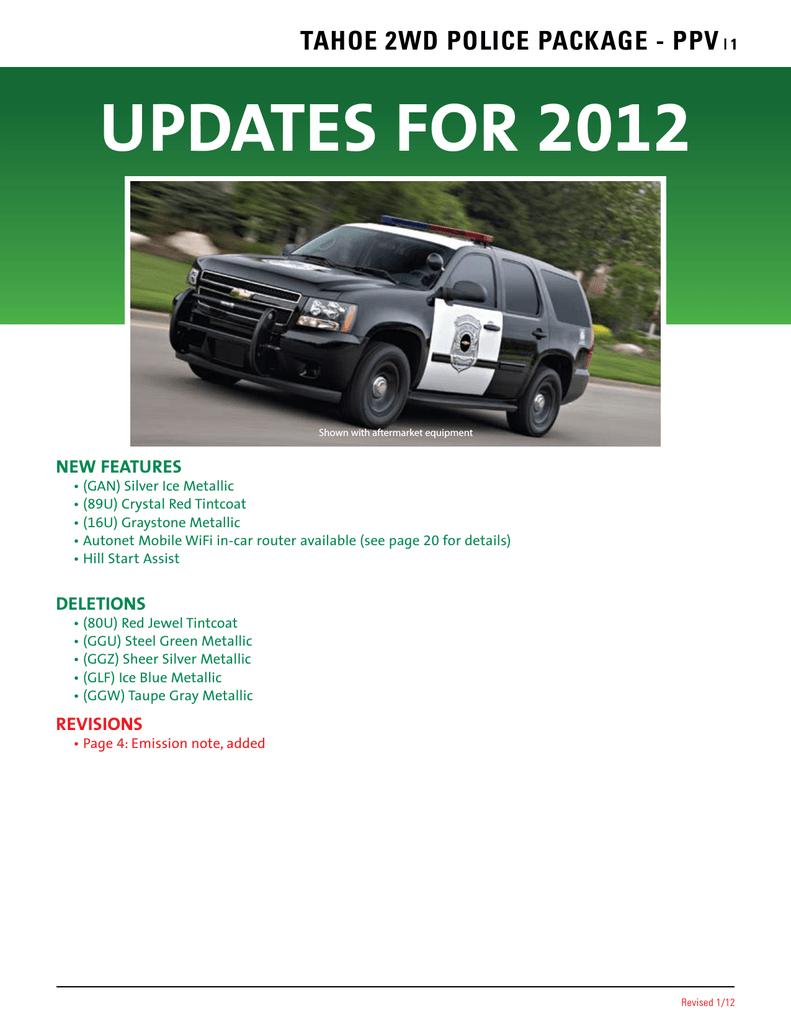 Chevrolet Tahoe 2012 Owner`s manual   Manualzzmanualzz