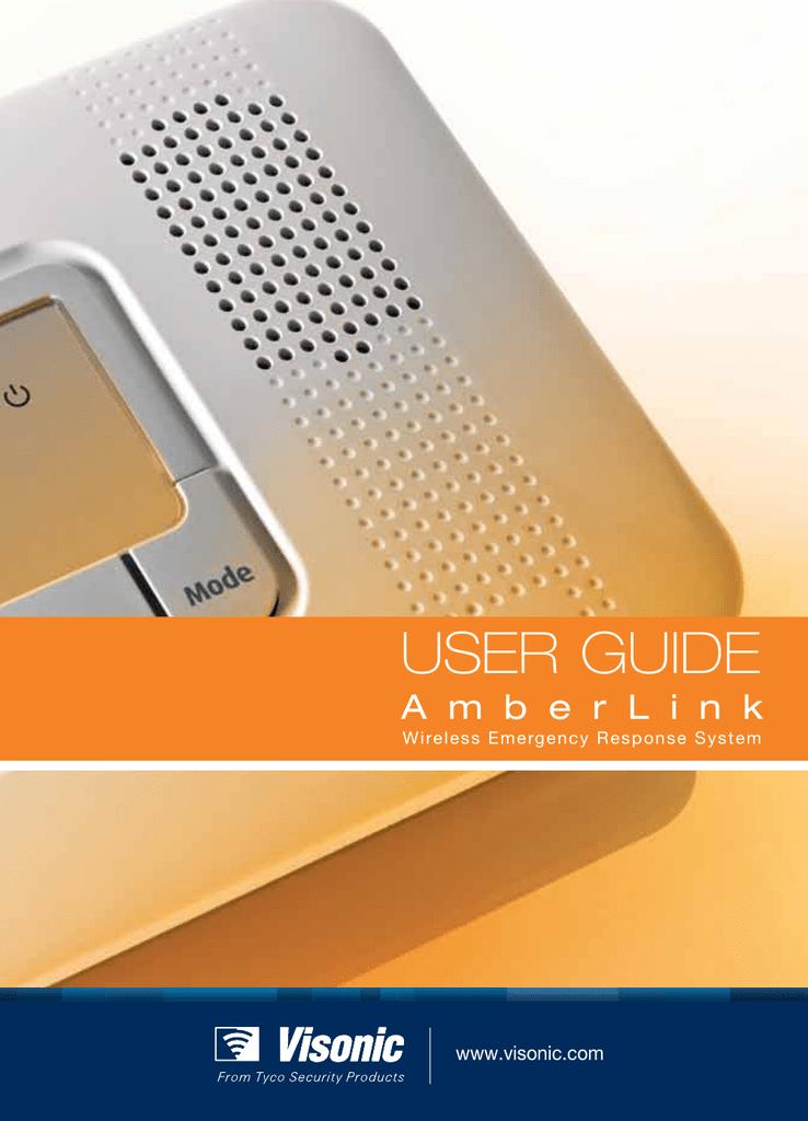 Visonic AmberLink User guide | manualzz com