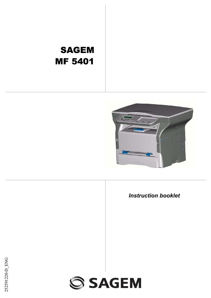 Sagem multifunction devices driver updater