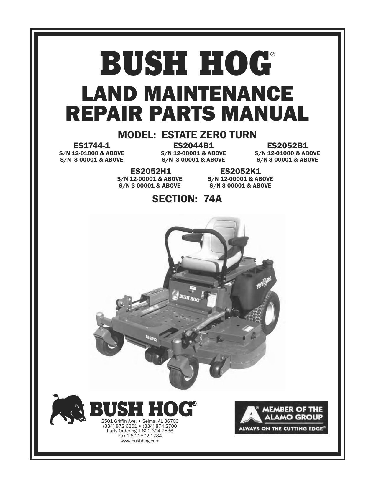 bush hog� manualzz com