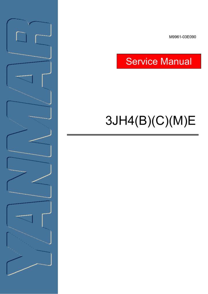Yanmar 3JH4E Service manual | manualzz com