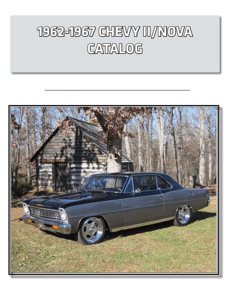 Painted New 1962-67 Chevrolet Nova Gas Tank Straps Pair