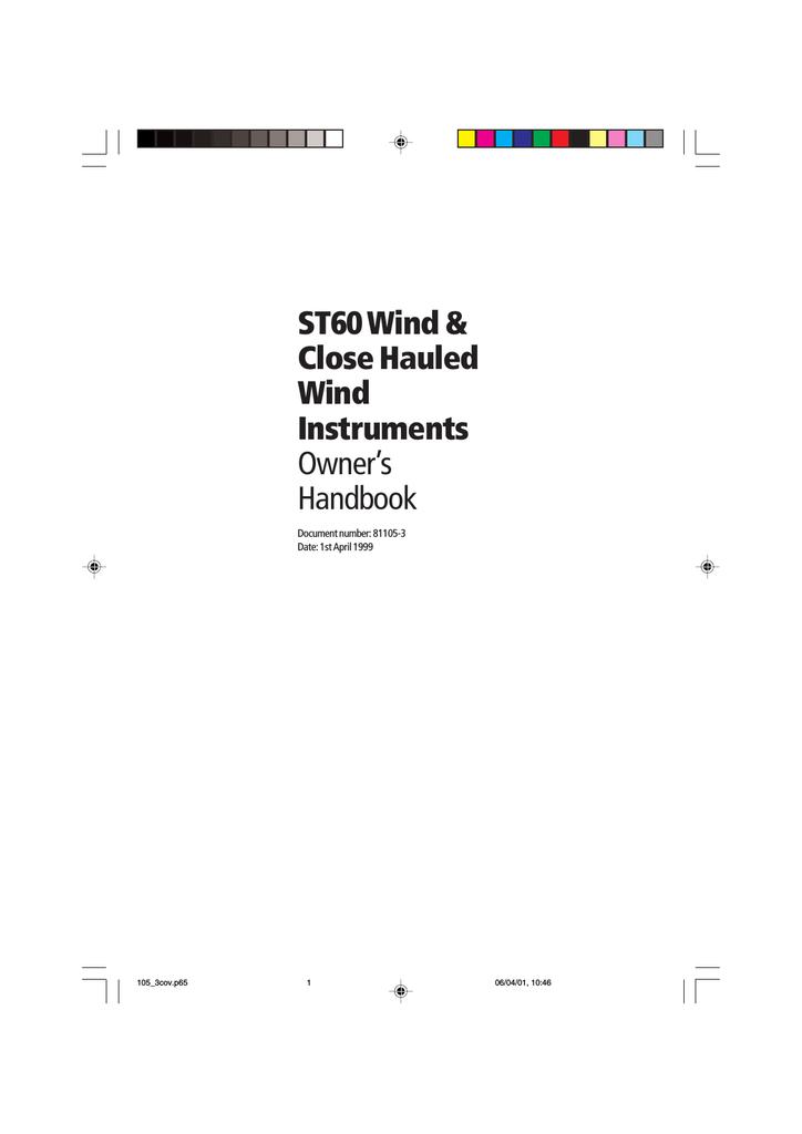 Raymarine ST60 Installation manual | manualzz com