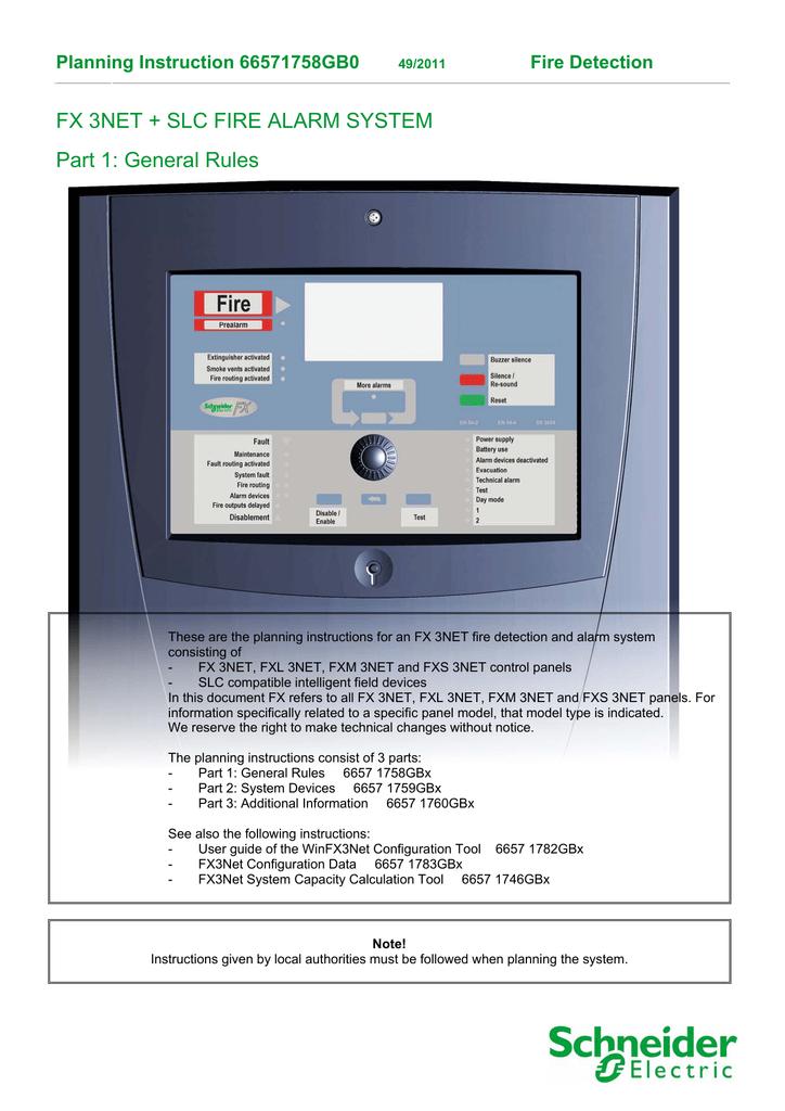 Schneider Electric FX 3NET User guide | manualzz com