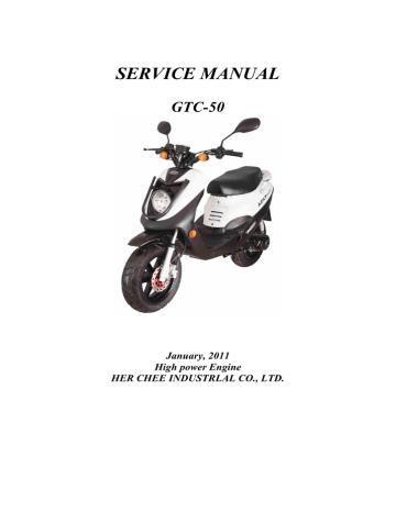 Adly Motor GTA-50 User manual   Manualzz   Adly Atv Wiring Diagram      Manualzz