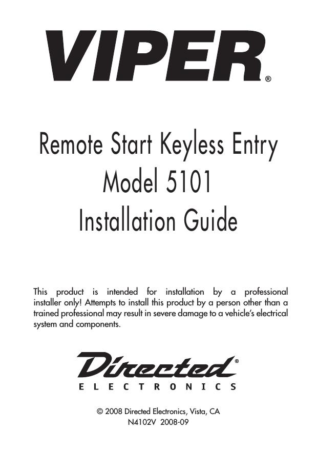 Viper 4105v installation guide Saturn Outlook Wiring-Diagram Viper 5101 Remote Start Installation Guide Viper 5002 Wiring Diagram on viper 5101 wiring diagram