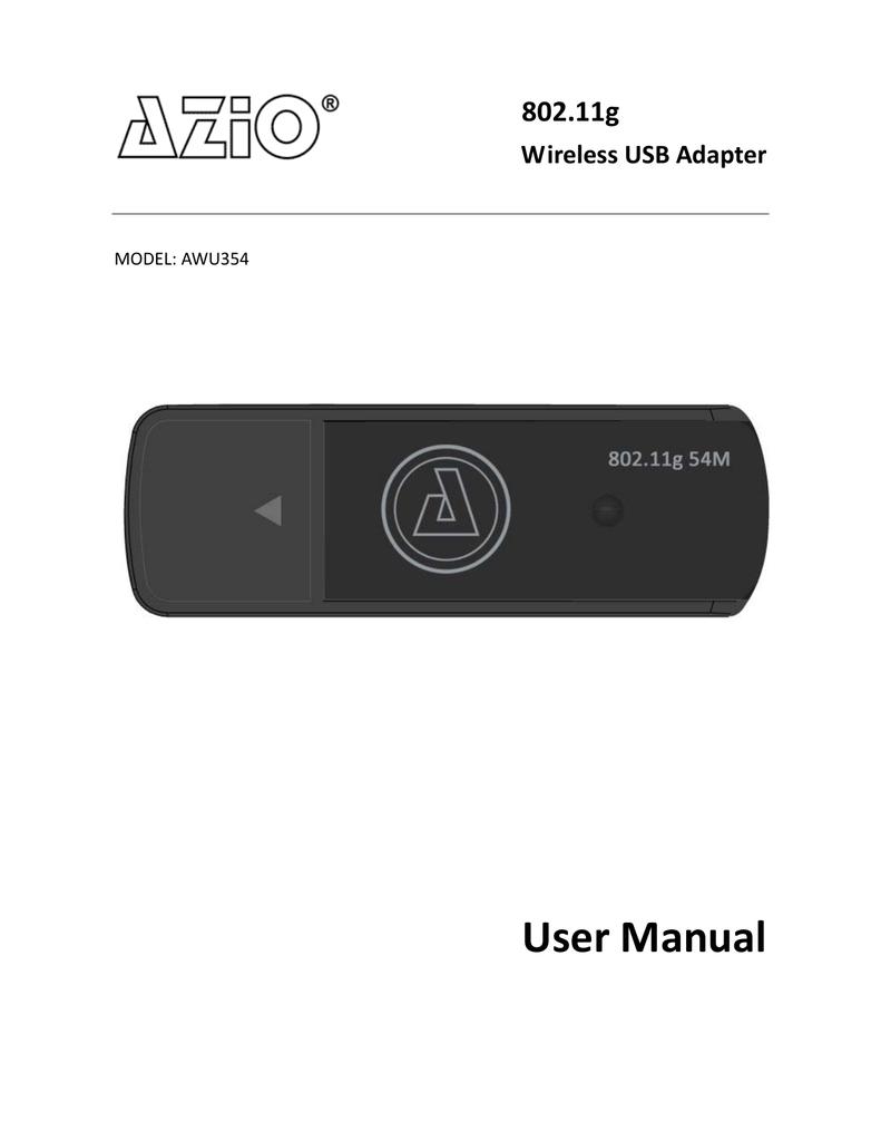 AZIO AWU354 DRIVERS WINDOWS 7 (2019)