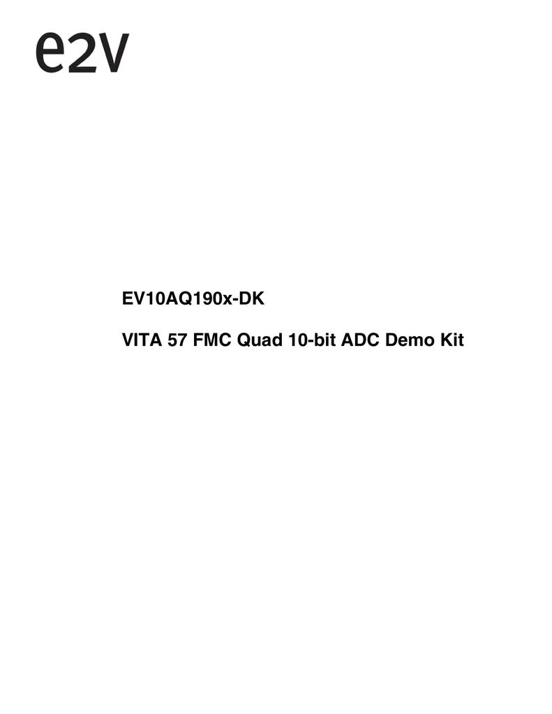 ADC ML-190 User guide | manualzz com