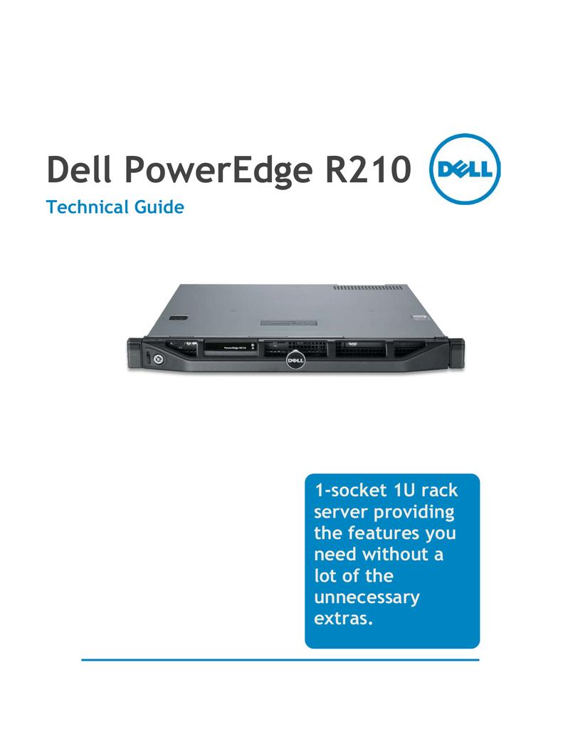Dell PowerEdge R210 Specifications   manualzz com