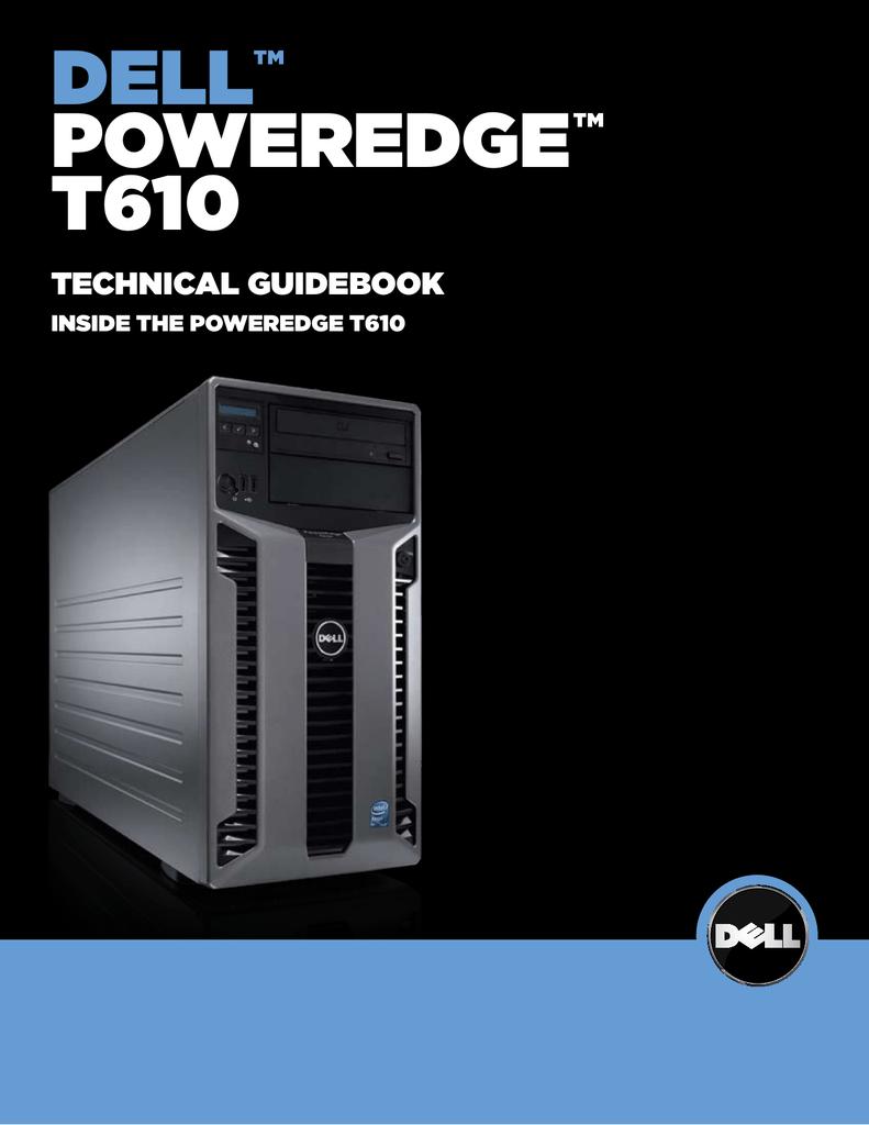 Dell PowerEdge T610 Specifications   manualzz com