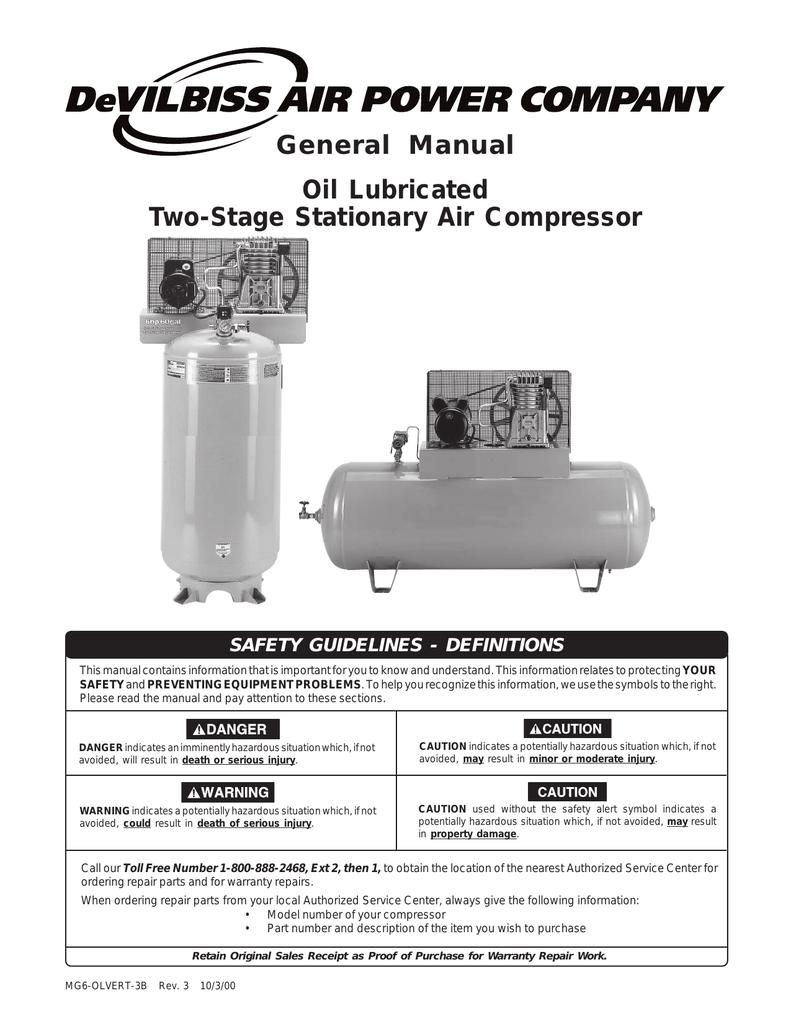 [SCHEMATICS_4FD]  DeVilbiss Air Compressor Specifications | Manualzz | Devilbiss Air Compressor Wiring Diagram |  | manualzz