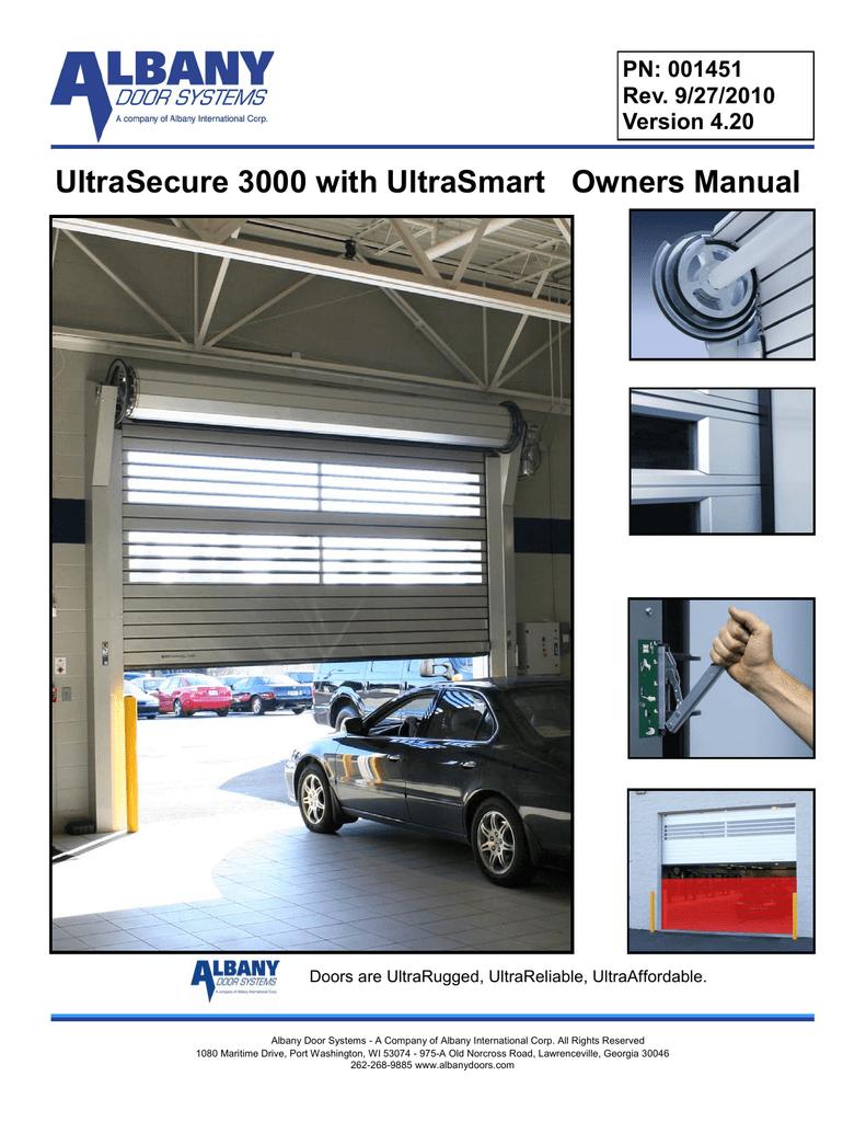 Albany UltraSmart Technical data