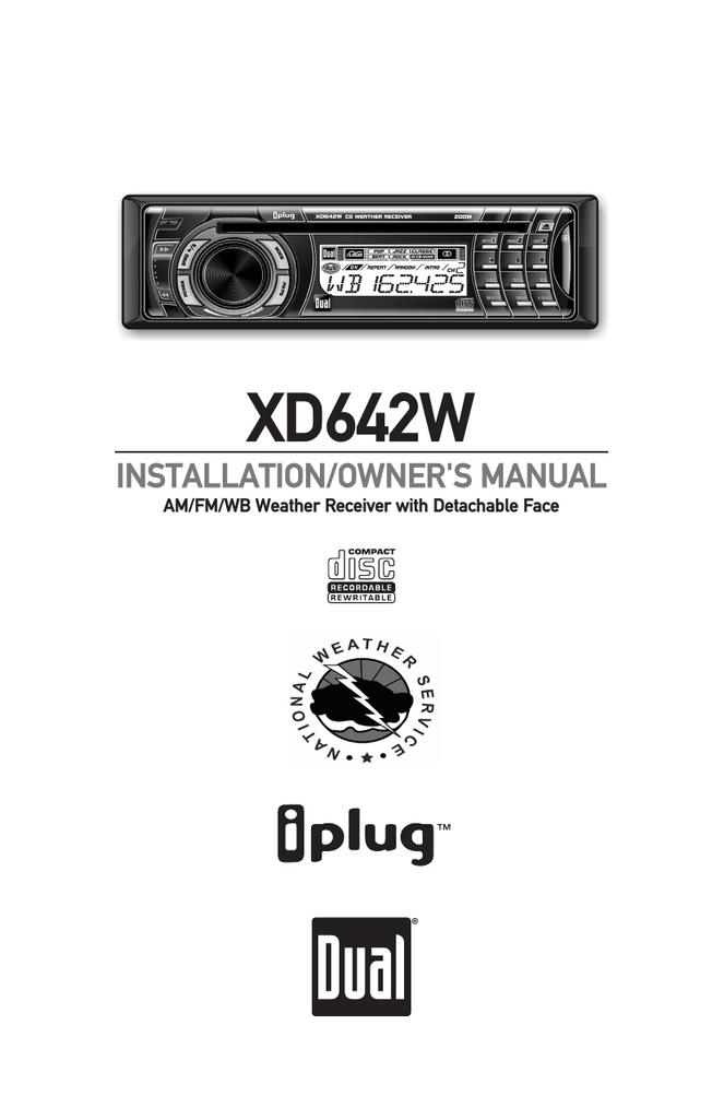 Dual XD642W Troubleshooting guide | manualzz.com on