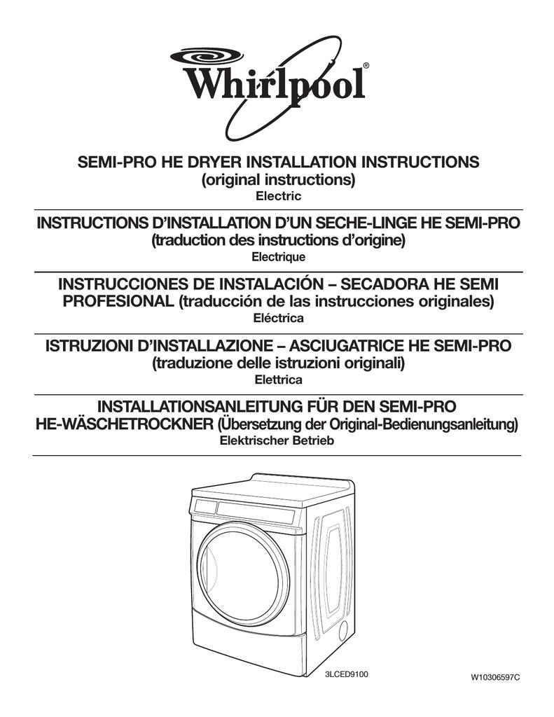 Groß Whirlpool Cabrio Trockner Schaltplan Ideen - Die Besten ...