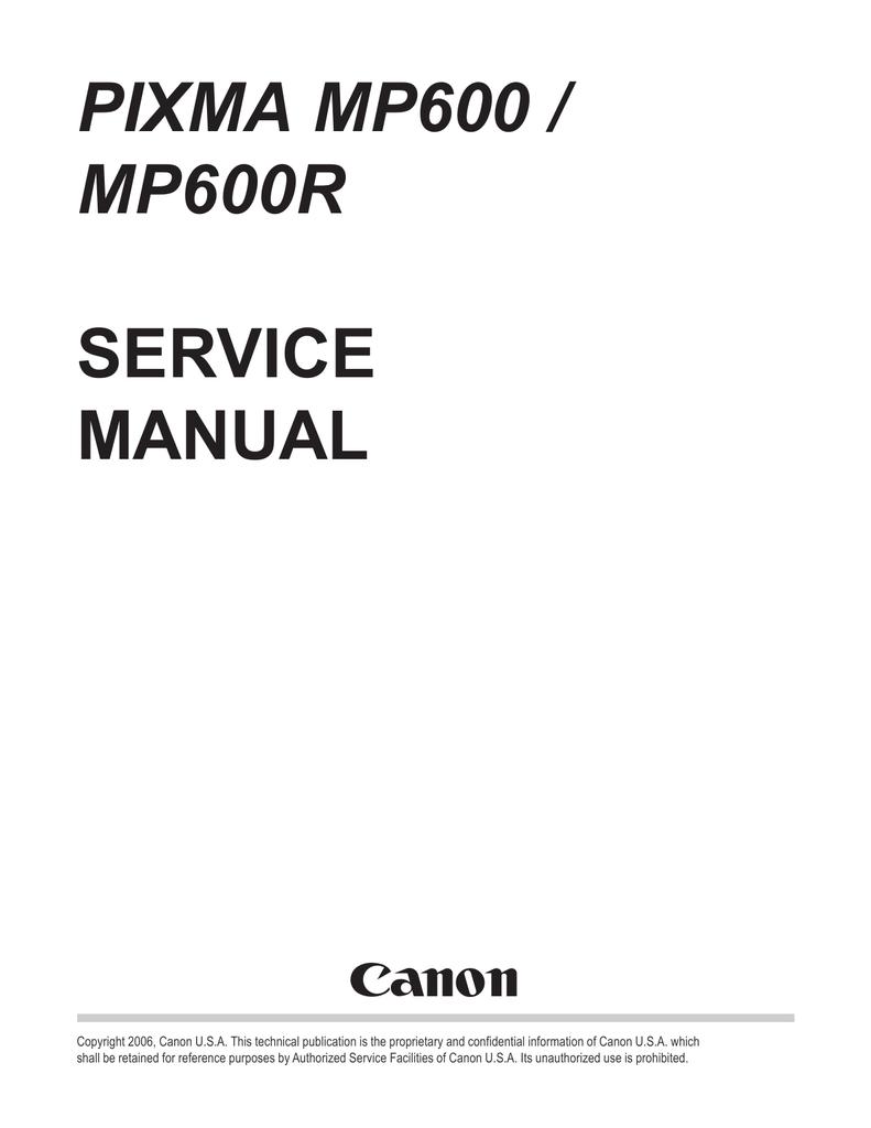 canon pixma mp600 service manual manualzz com rh manualzz com canon mp600 _service_manual canon mp600 _service_manual