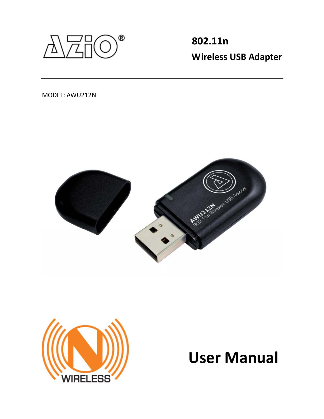 AZIO 802.11N WIRELESS USB ADAPTER DRIVER FOR WINDOWS MAC