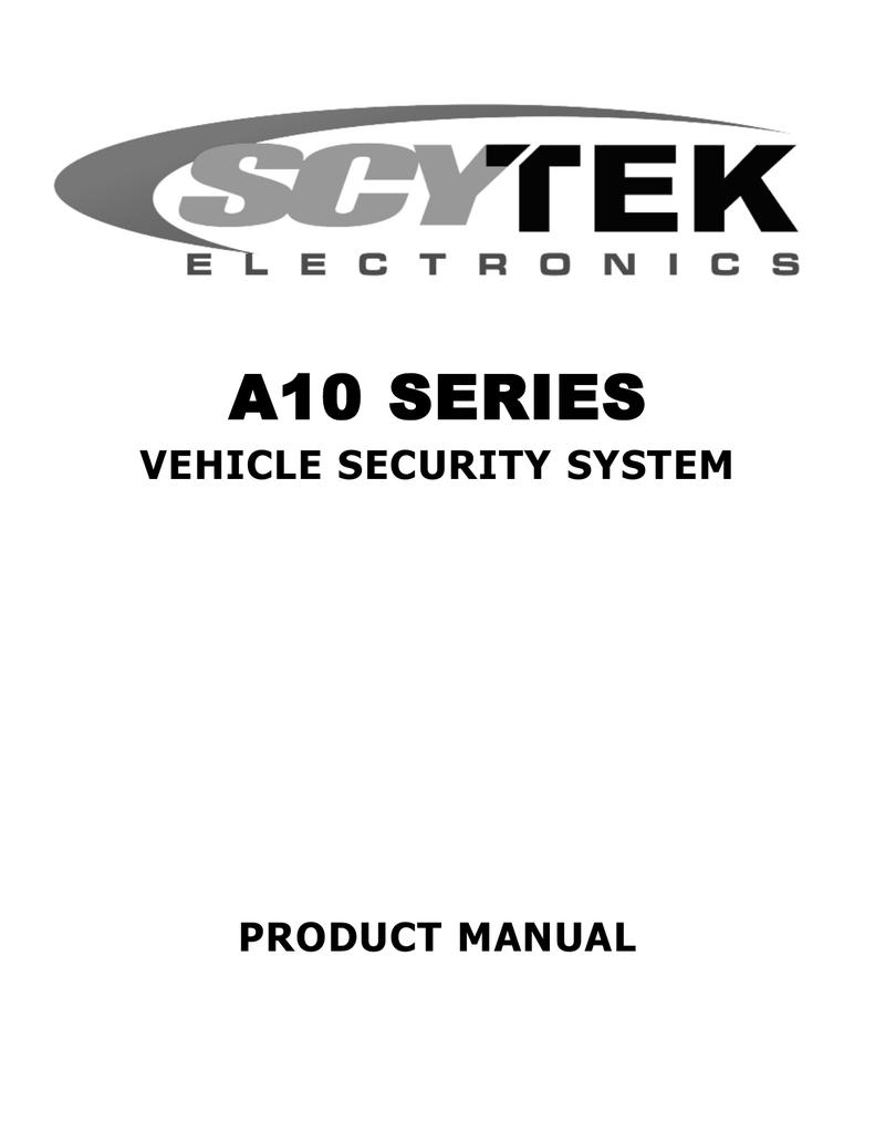 [CSDW_4250]   Scytek electronic VEHICLE SECURITY SYSTEM A10 Product manual | Manualzz | Scytek Car Wiring Diagram |  | manualzz