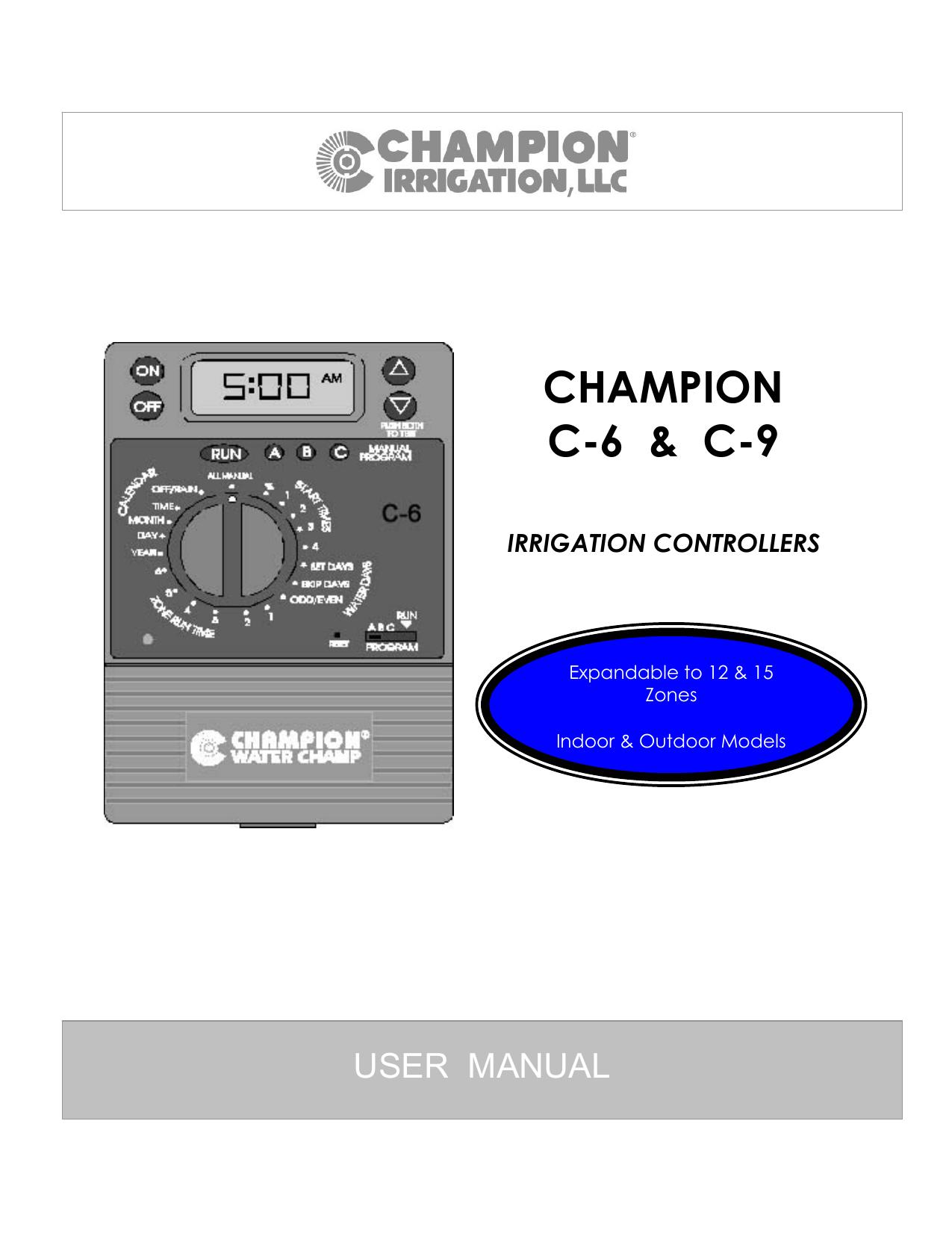 champion irrigation products c 9 user manual manualzz com rh manualzz com