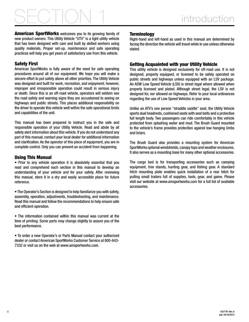 American Sportworks Chuck Wagon Operator`s manual | manualzz com