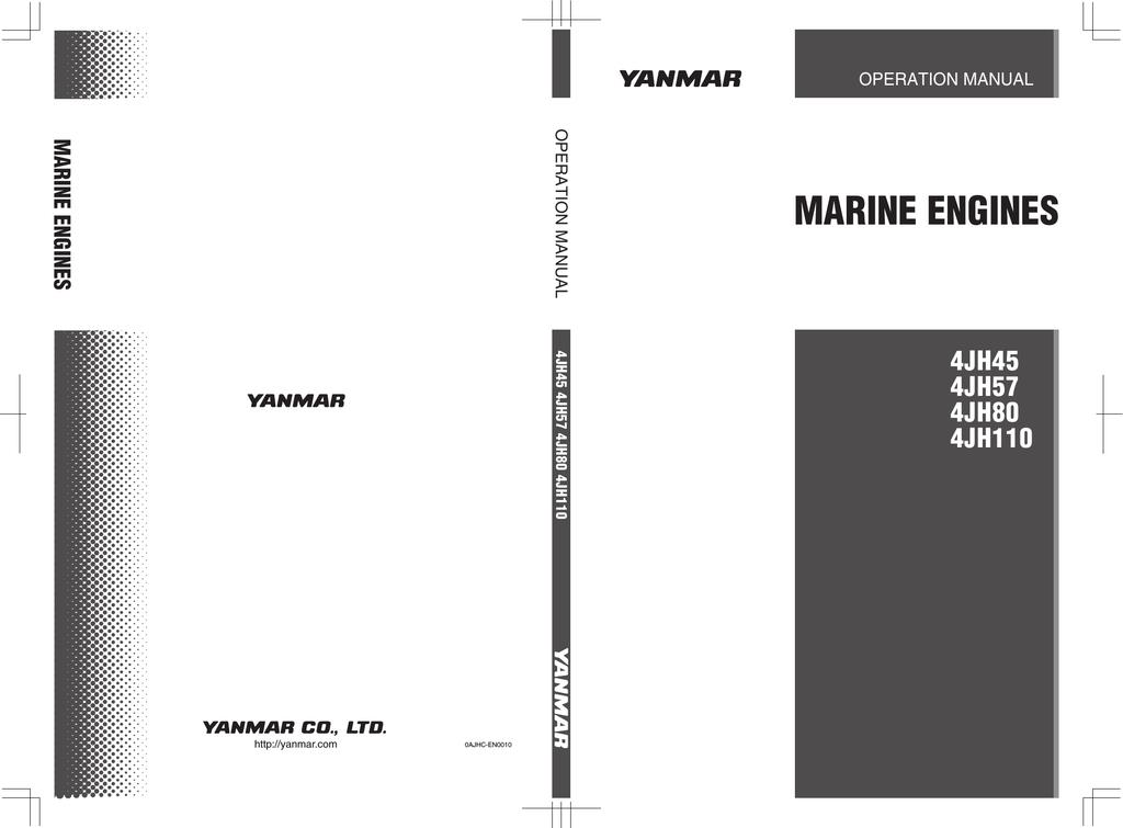 Yanmar 4JH45 Specifications | manualzz com