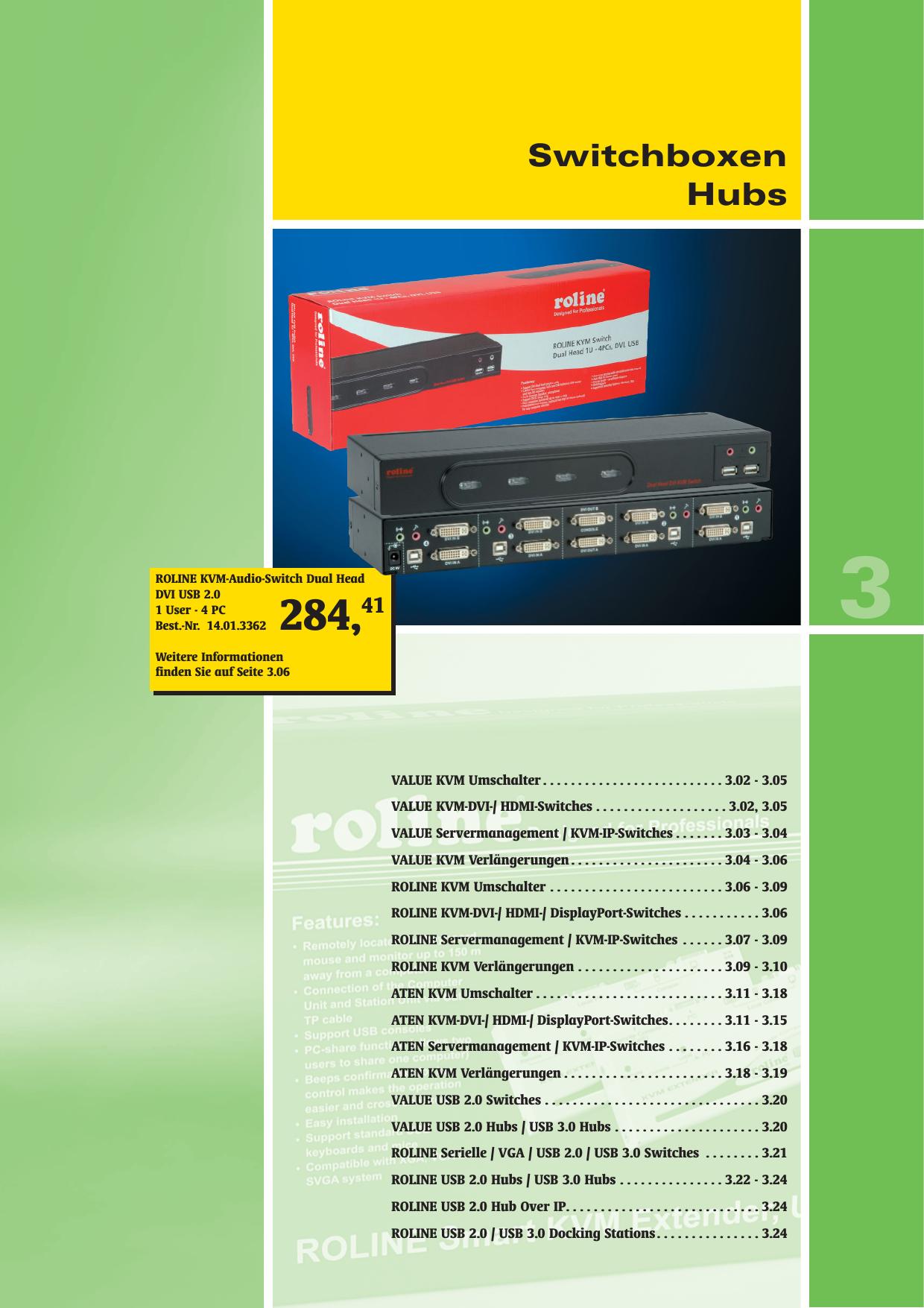 optionales IP-Modul Schwarz DIGITUS 16-Port Combo KVM Switch Tastatur- /& Maus-Emulation USB /& PS//2 19 Rackmontage