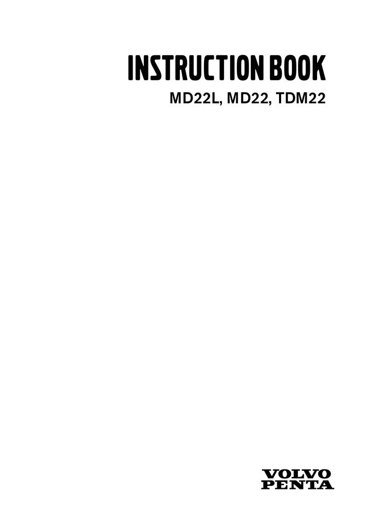 Volvo Penta Md22 Owner S Manual Manualzz