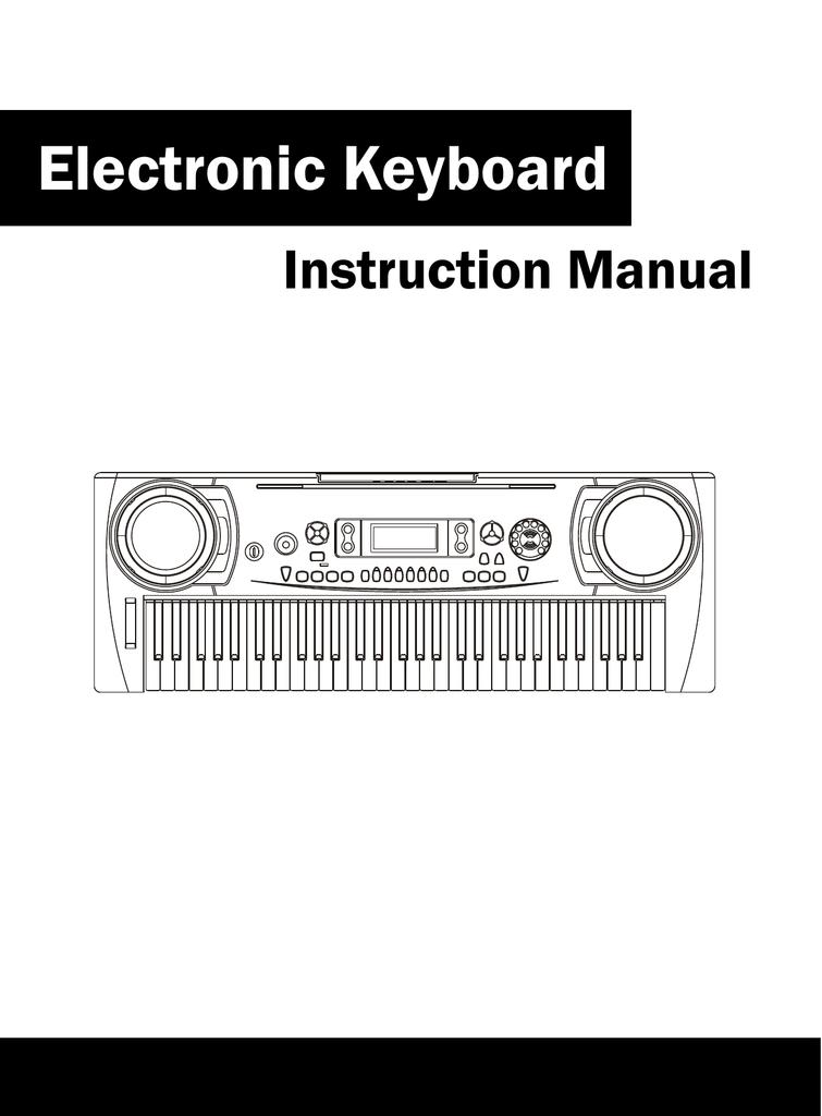 Medeli Electronic Keyboard Instruction Manual Manualzz