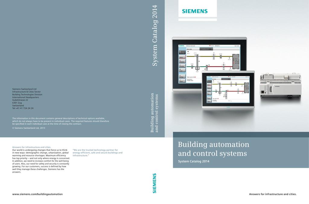 Siemens RDF301.50 Datasheet