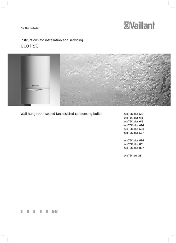 Vaillant ecotec plus 618 specifications manualzz asfbconference2016 Choice Image