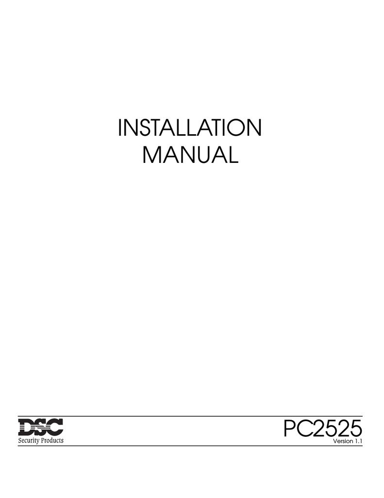 Dsc Rm1 Wiring Diagram Schematic Diagrams Neo Pc2525 Installation Manual Manualzz Com X10
