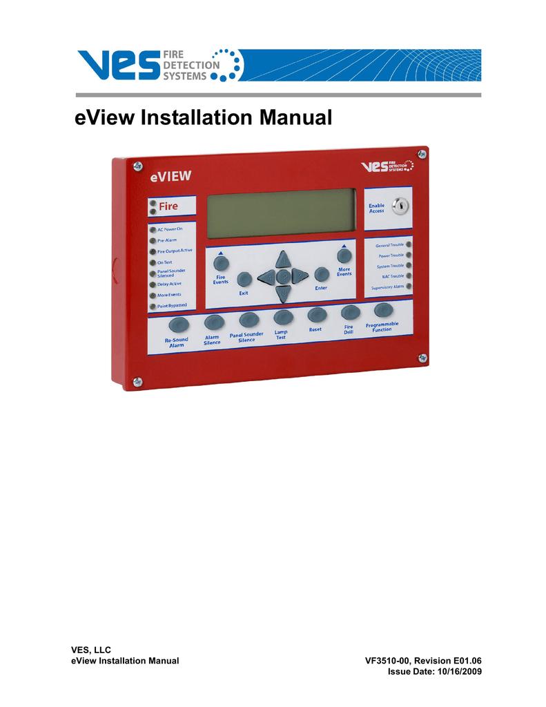 VES eView Installation manual | manualzz com