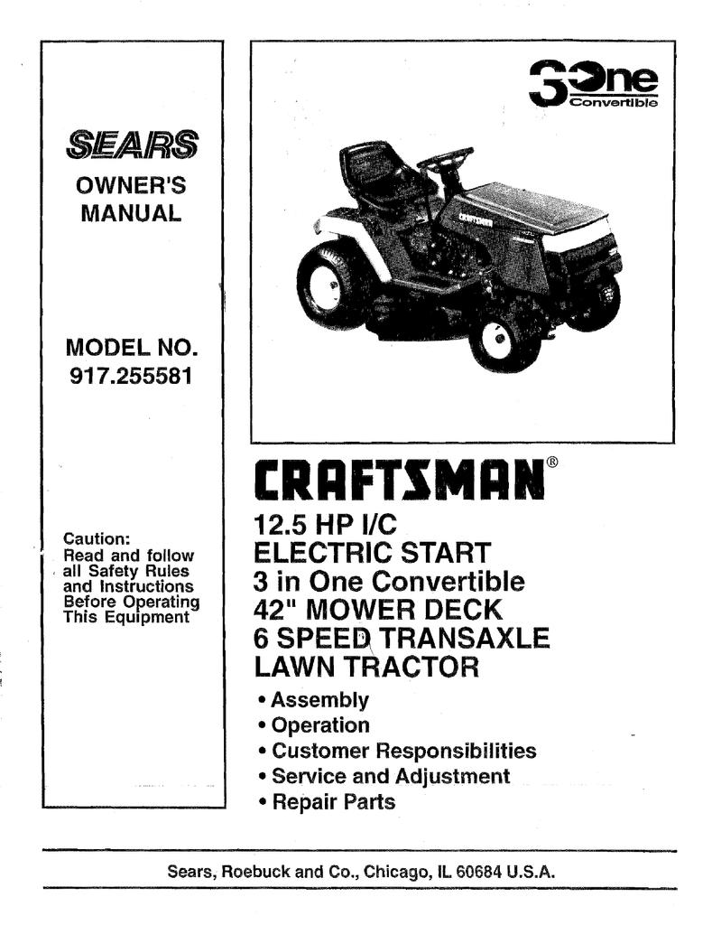 """Carburetor Craftsman 18.5 HP 42/"""" Mower Tractor 917.270751 Carb Briggs /& Stratton"""