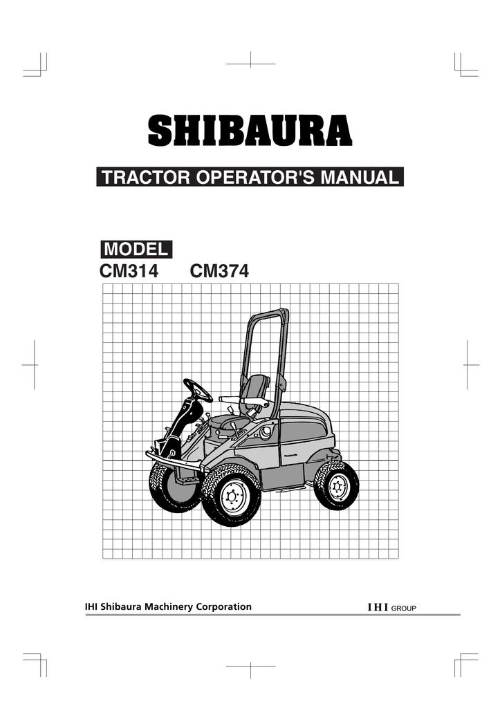 shibaura cm374 operator s manual manualzz com rh manualzz com