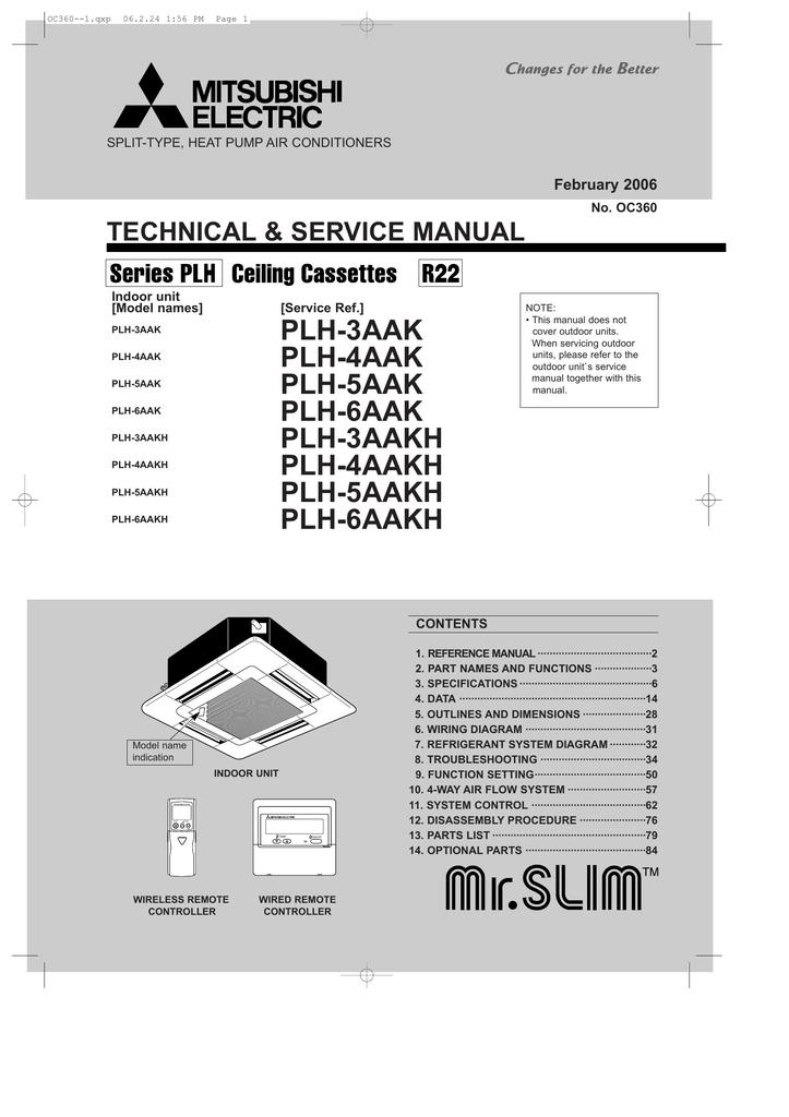 Haier Heat Pump Wiring Diagram : Mitsubishi mr slim wiring diagram haier