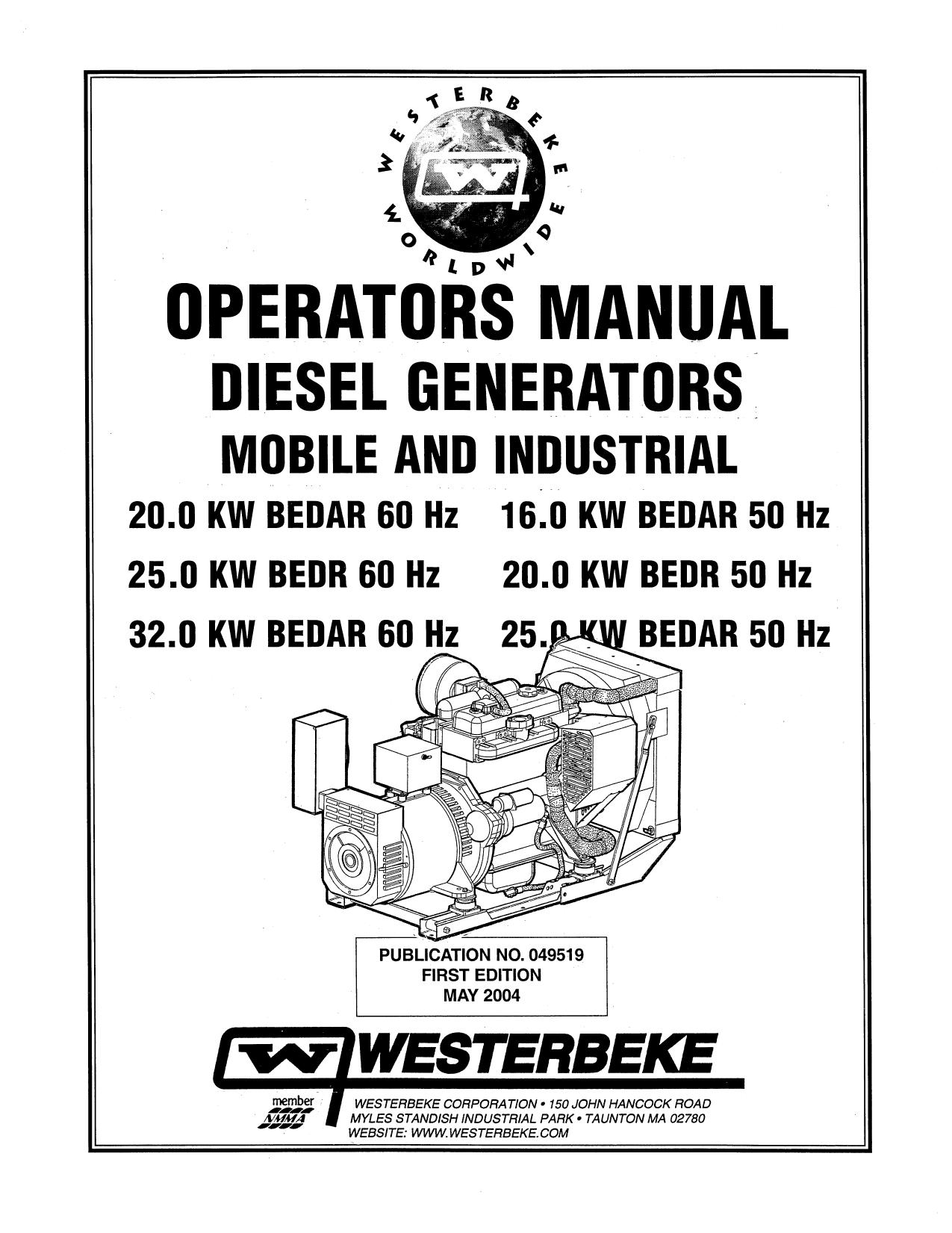 Westerbeke Generator Wiring Diagram Stove
