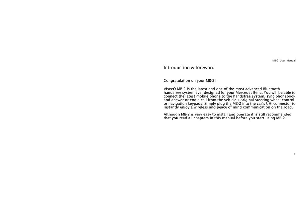 ViseeO MB-2 User manual | manualzz com