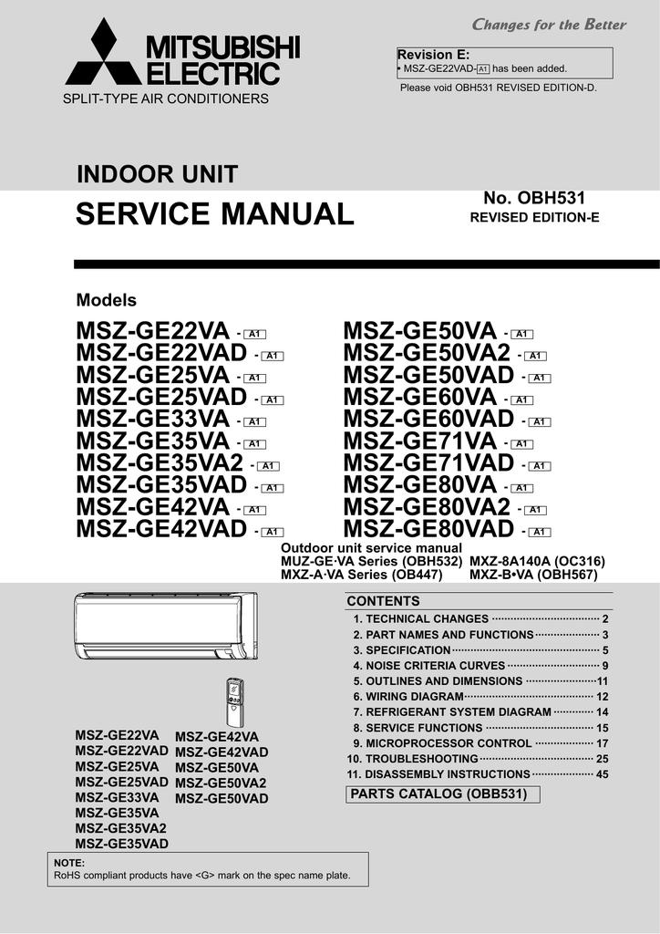 mitsubishi vs 50va2 service manual manualzz com rh manualzz com