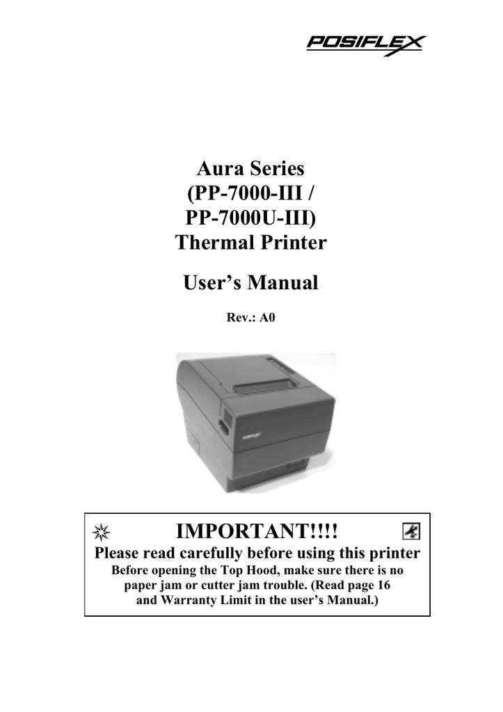 Mustek PP7000-II User`s manual   manualzz com