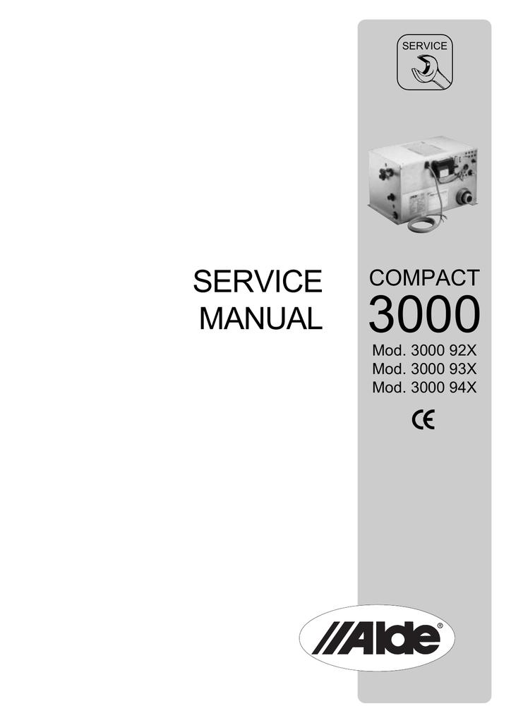 Alde compact 3000 || hal. Sistema-decimal. Info.