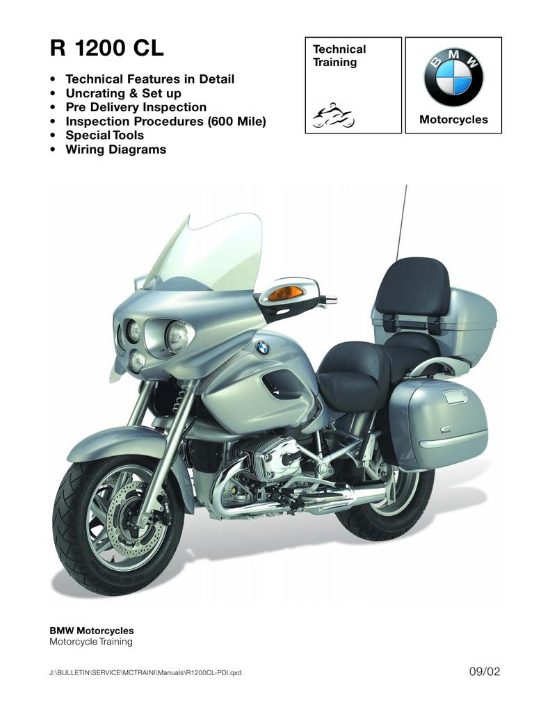 BMW R 1200 CL Technical data | Manualzz | Bmw R1200c Wiring Schematic |  | Manualzz