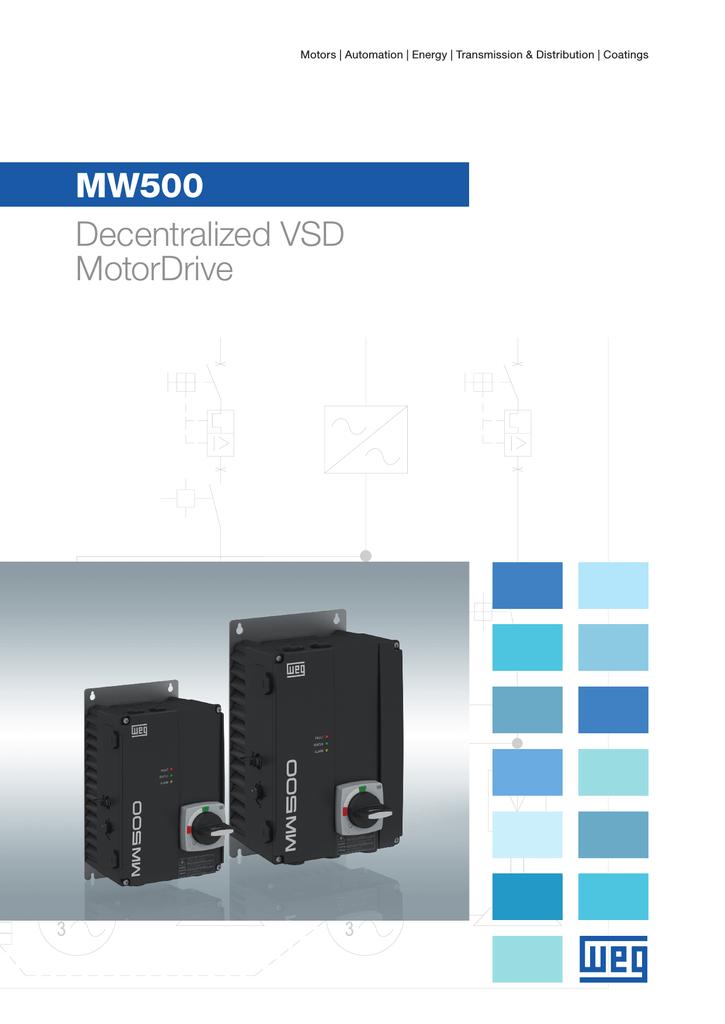 WEG MW500 User manual | manualzz com