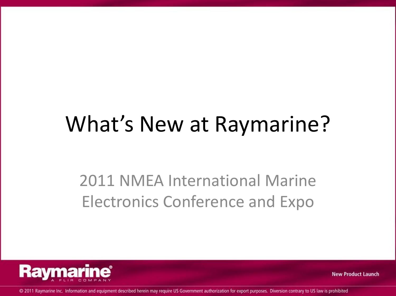 What`s New at Raymarine | manualzz com