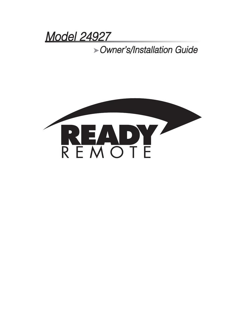 Ready Remote 24927 Installation Guide Svp Siren Wiring Diagram