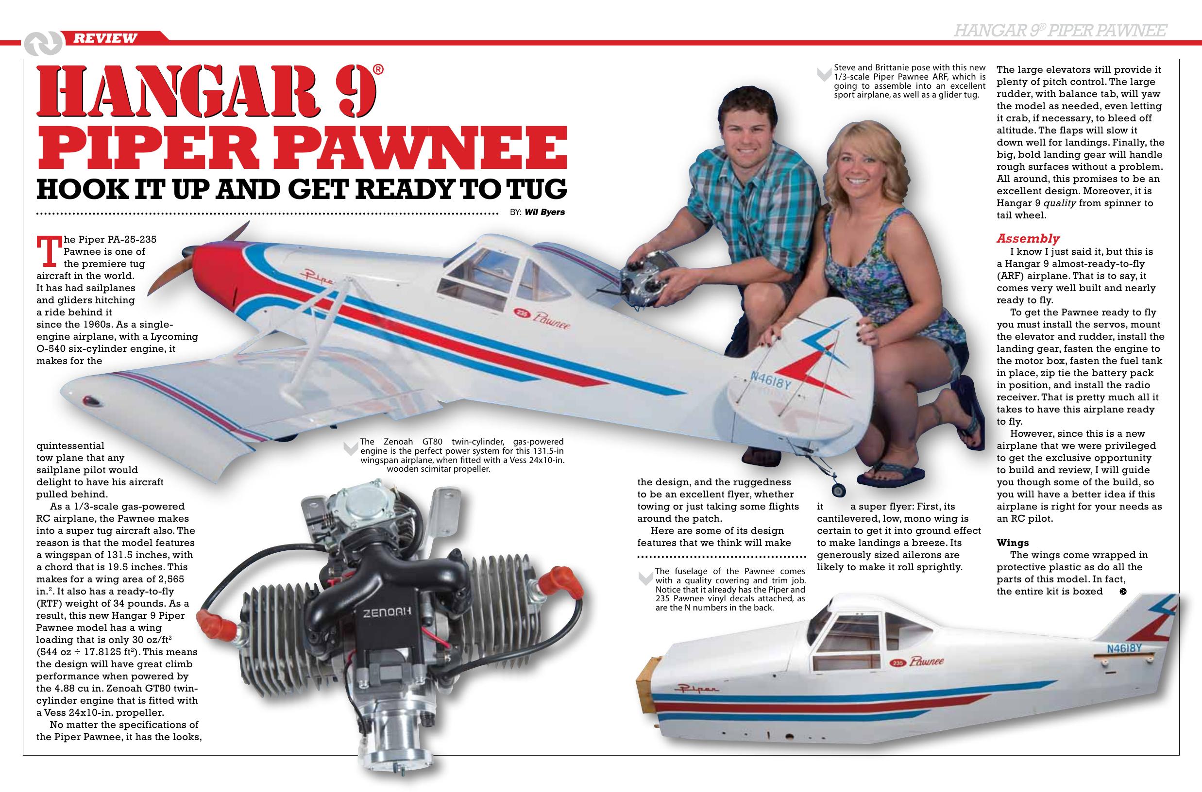 SF 16-05 Review Piper Pawnee | manualzz com