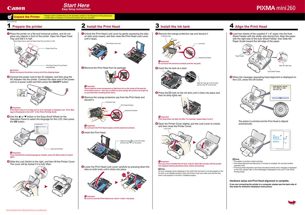canon pixma mp460 user guide